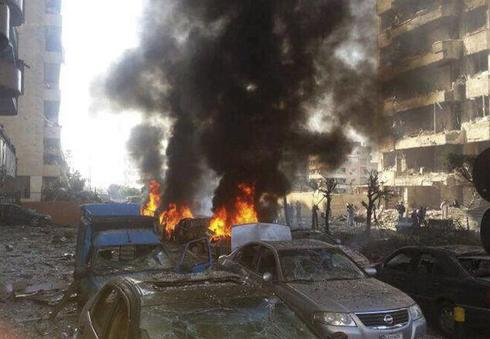 Blasts hit Iranian embassy in Beirut
