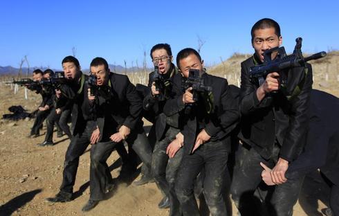 China's bodyguard school