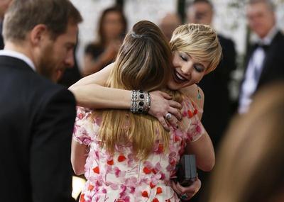 Golden Globe Awards red carpet