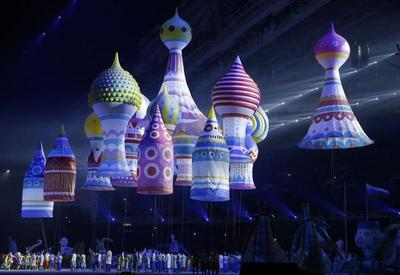Opening Ceremony in Sochi