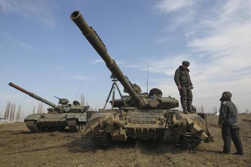 Ukrainian military exercises