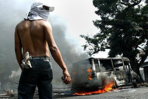 A month of unrest in Venezuela