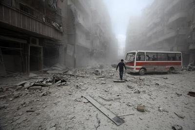A week in Aleppo