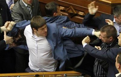 When politicians fight