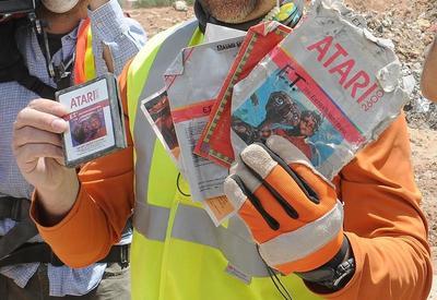 E.T. Atari games found in landfill