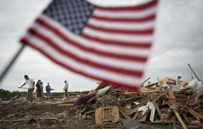 In the tornado's path