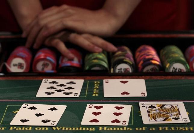 5月12日、米ラッシュ会長は、カジノを持つ統合型リゾートについて、日本国内で事業展開する場合は「大阪のみに関心を持っている」と述べた。写真はマカオで2010年6月撮影(2014年 ロイター/Tyrone Siu)
