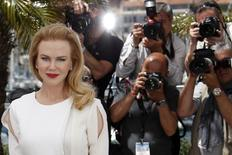"""Cast member Nicole Kidman poses during a photocall for the film """"Grace of Monaco"""" (Grace de Monaco) out of competition before the opening of the 67th Cannes Film Festival in Cannes May 14, 2014.   REUTERS/Benoit Tessier"""