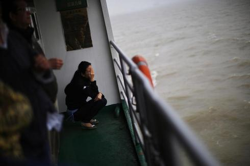 China's sea burials