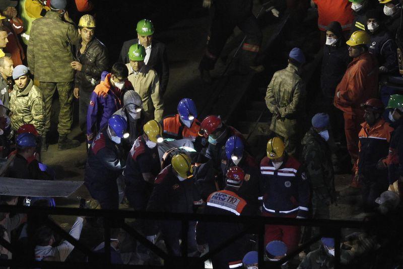 Turkish mine disaster town under lockdown as death toll