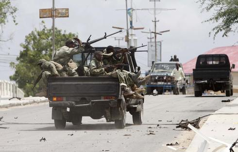 Attack on Somali parliament