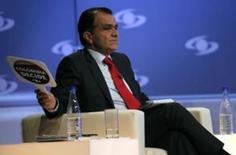 El candidato presidencial de Colombia Oscar Iván Zuluaga, en un debate en Bogotá el 23 de mayo REUTERS/Fredy Builes