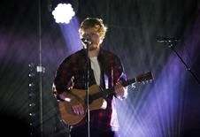 Singer Ed Sheeran performs at the 2014 Wango Tango concert at StubHub Center in Carson, California May 10, 2014.   REUTERS/Mario Anzuoni