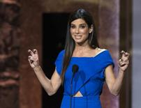 Actress Sandra Bullock speaks at the American Film Institute's 42nd Life Achievement Award at the Dolby theatre in Hollywood, California June 5, 2014. REUTERS/Mario Anzuoni