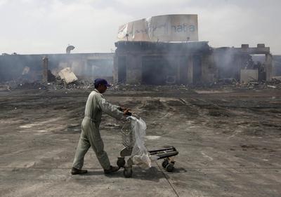 Karachi airport attacked