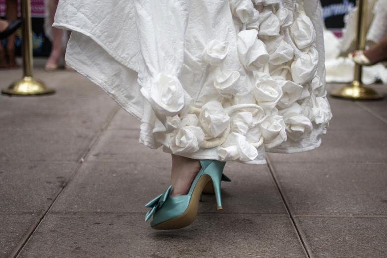 Toilet Paper Wedding Dresses Reuters Com