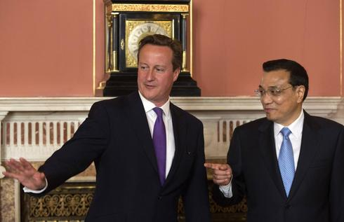 Gas and currency deals cap Chinese premier's first UK visit