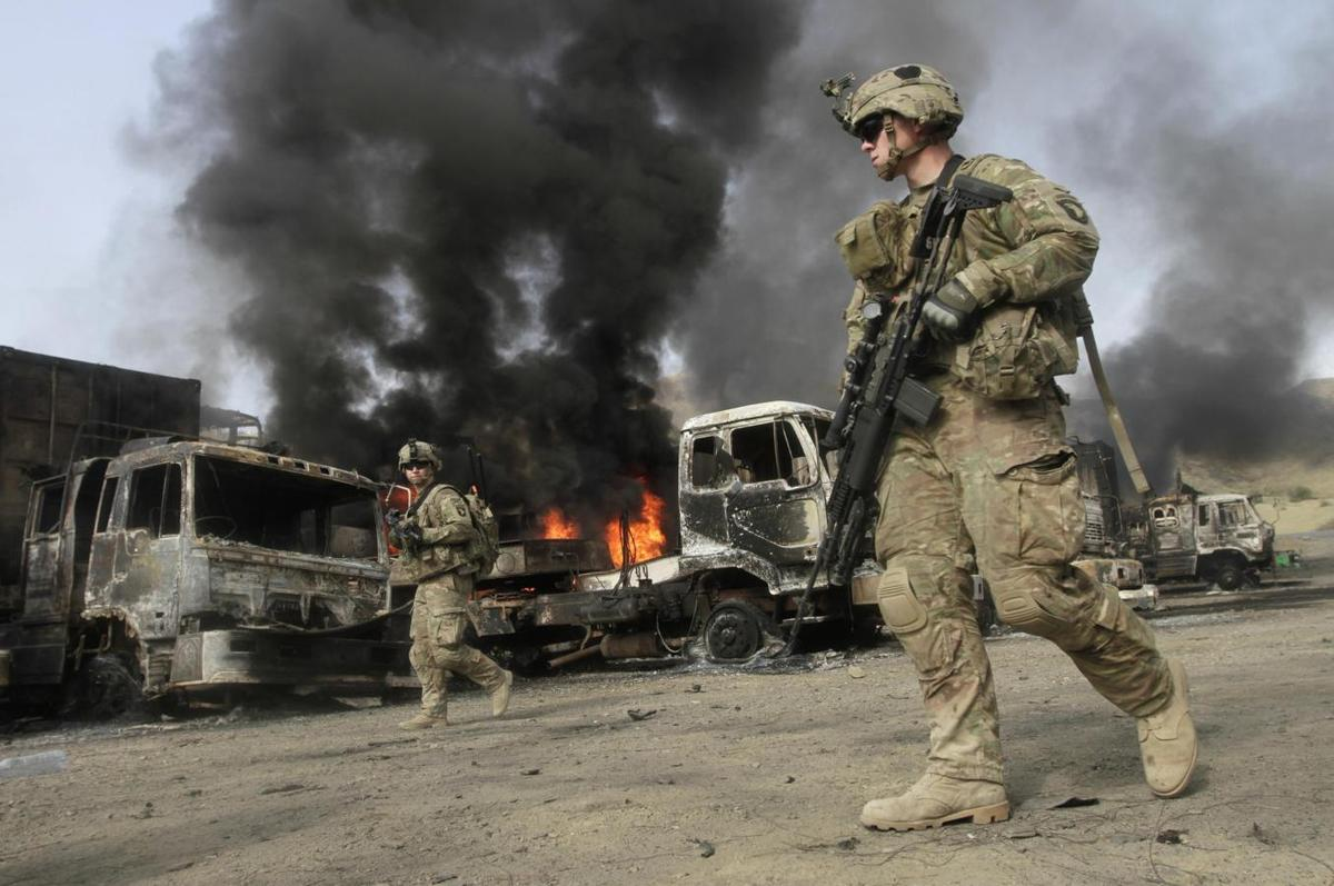 Taliban attack NATO supplies in Afghan east, destroy dozens of trucks