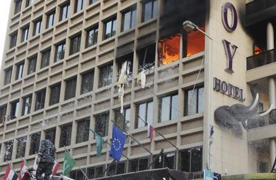 Beirut hotel blast