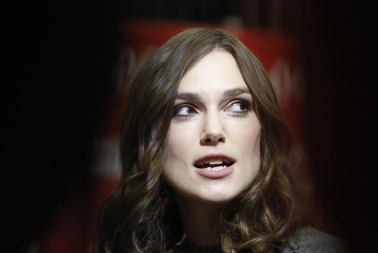 Actress Keira Knightley attends premiere of a film at the Sundance Film Festival in Park City, Utah, January 17, 2014.  REUTERS/Jim Urquhart/Files