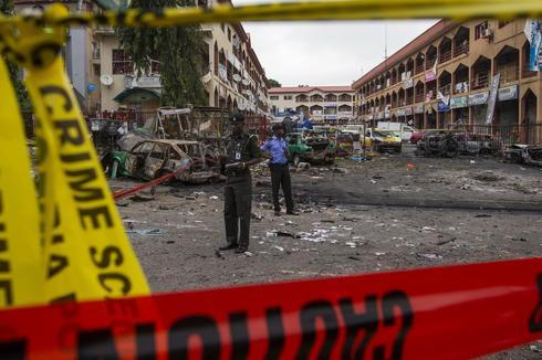 Nigerian mall bombed