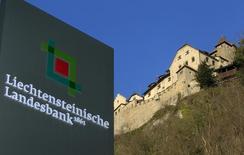 Le Liechtenstein doit renforcer la transparence de son secteur financier et améliorer ses capacités d'identification des propriétaires d'avoirs détenus sur son territoire, dit un rapport du Conseil de l'Europe publié jeudi à Strasbourg. /Photo d'archives/REUTERS/Arnd Wiegmann