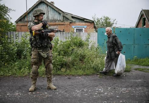 Entrenched in east Ukraine