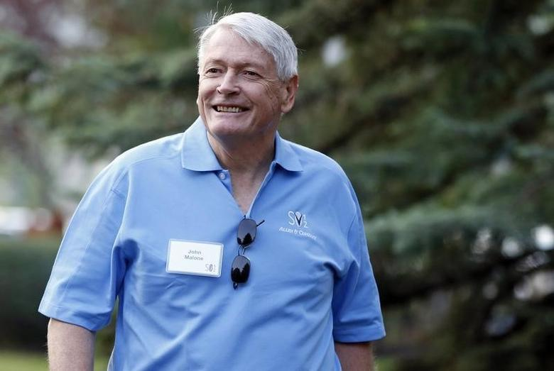Chairman of Liberty Media John Malone attends the Allen & Co Media Conference in Sun Valley, Idaho in this July 12, 2012 file photo.  REUTERS/Jim Urquhart