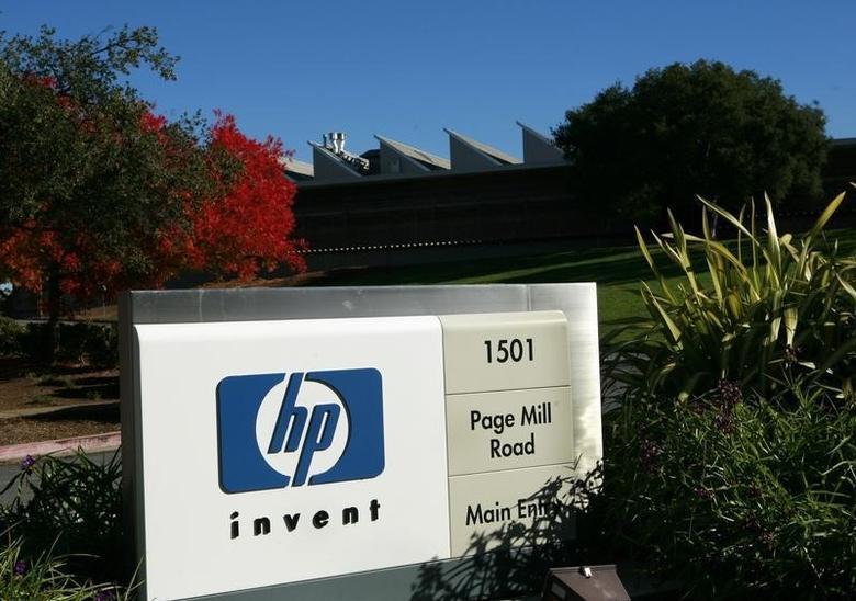 A view of the Hewlett Packard headquarters in Palo Alto, California November 23, 2009. REUTERS/Robert Galbraith/Files