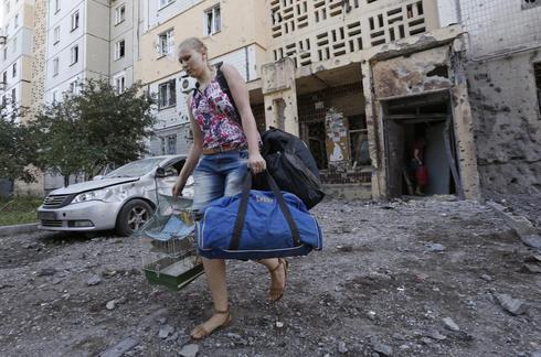 Shelling in east Ukraine