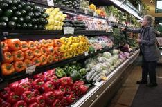 A customer shops for fresh produce in Ann Arbor, Michigan, March 2012. REUTERS/Rebecca Cook