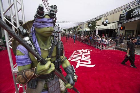Teenage Mutant Ninja Turtles premiere