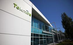 Tekmira Pharmaceuticals Corporation's head office is pictured in Burnaby, British Columbia August 5, 2014.   REUTERS/Ben Nelms