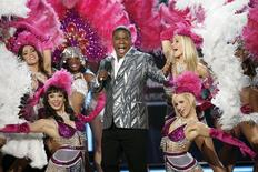 Host Tracy Morgan speaks onstage during the Billboard Music Awards at the MGM Grand Garden Arena in Las Vegas, Nevada May 19, 2013. REUTERS/Steve Marcus