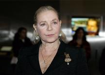 Actress Lauren Bacall arrives on the red carpet at the Kennedy Center for Senator Ted Kennedy's Birthday Celebration in Washington in this March 8, 2009 file photo. REUTERS/Molly Riley/Files