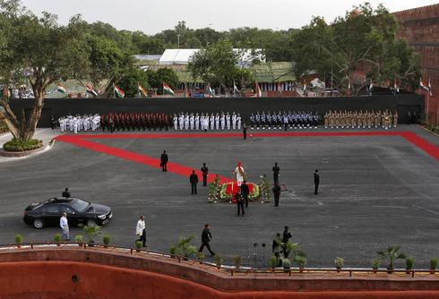 Modi at the Red Fort