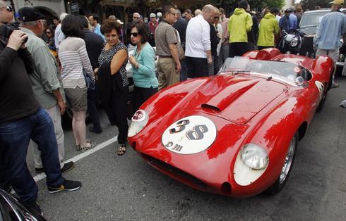 Classic cars of Carmel