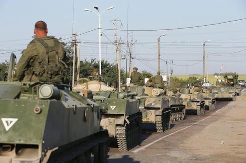 Kiev says forces destroyed Russian armour inside Ukraine