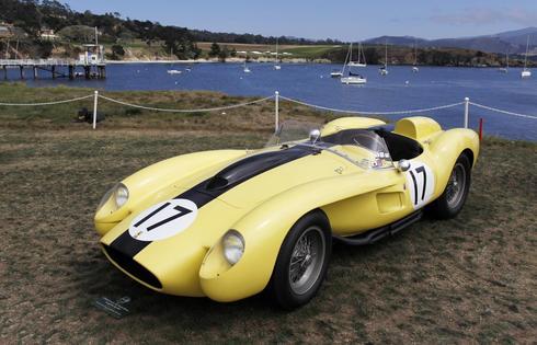 Classic cars of California