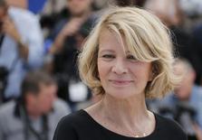 A diretora Nicole Garcia no Festival de Cinema de Cannes, na França, em maio. 17/05/2014 REUTERS/Regis Duvignau
