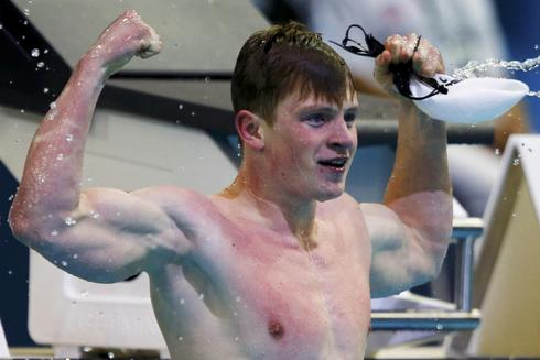 Briton Peaty breaks 50 meters breaststroke world record