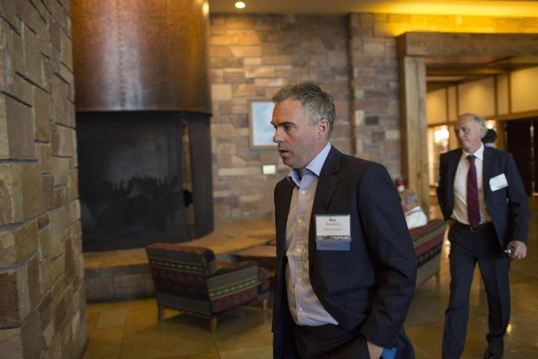 Benjamin Broadbent, Deputy Governor of the Bank of England, arrives at the Jackson Hole Economic Policy Symposium in Jackson Hole, Wyoming August 22, 2014. REUTERS/David Stubbs
