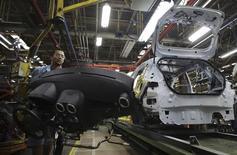 Metalúrgico em fábrica da Ford em São Bernardo do Campo, na Grande São Paulo. REUTERS/Nacho Doce