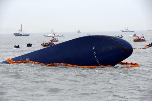 Crew of doomed South Korea ferry drank beer while awaiting rescue: media