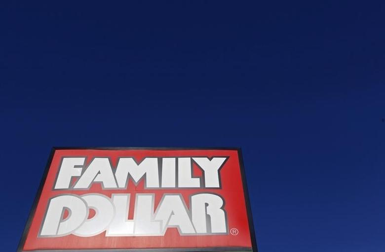 A Family Dollar store is seen in Chicago, June 25, 2012.  REUTERS/Jim Young/Files