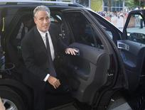 """Director Jon Stewart arrives at the Canadian premiere of """"Rosewater"""" at the Toronto International Film Festival (TIFF) in Toronto, September 8, 2014.    REUTERS/Fred Thornhill"""