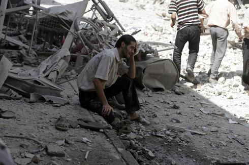 Shell-shocked in Syria