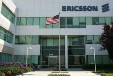 Una sede de Sony Ericsson en Santa Clara. Imagen de archivo, 11 agosto, 2009. Ericsson, el mayor fabricante mundial de equipos para redes móviles, cerrará su deficitario negocio de módems y despedirá a unos 1.000 trabajadores. REUTERS/Robert Galbraith