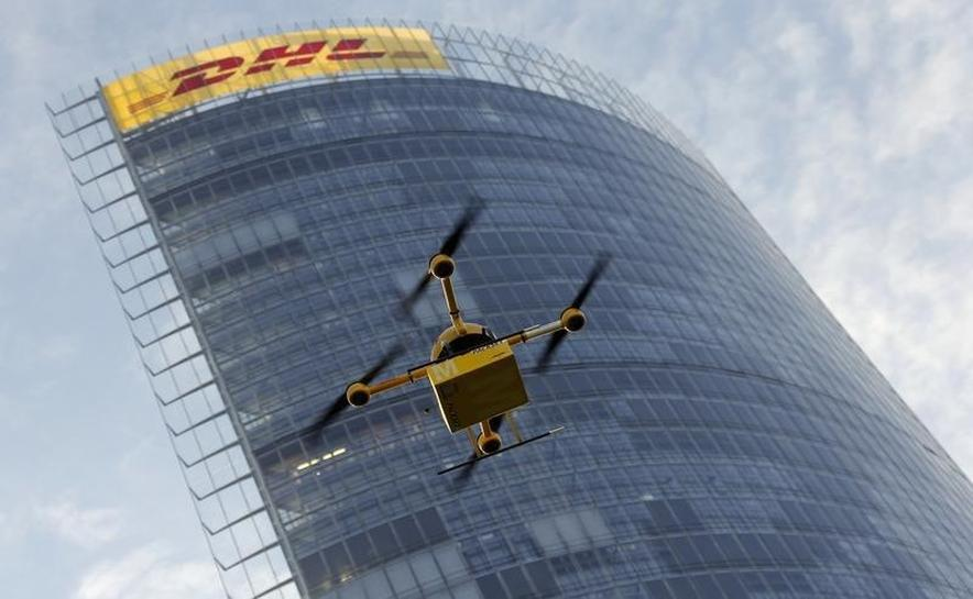drone delivery dhl 39 parcelcopter 39 flies to german isle reuters. Black Bedroom Furniture Sets. Home Design Ideas