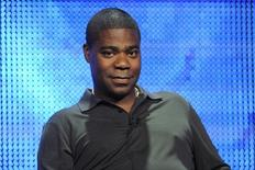 """Writer and executive producer Tracy Morgan participates in the panel for the comedy special """"Tracy Morgan: Black and Blue"""" during the HBO summer Television Critics Association press tour in Beverly Hills, California August 7, 2010. REUTERS/Phil McCarten"""